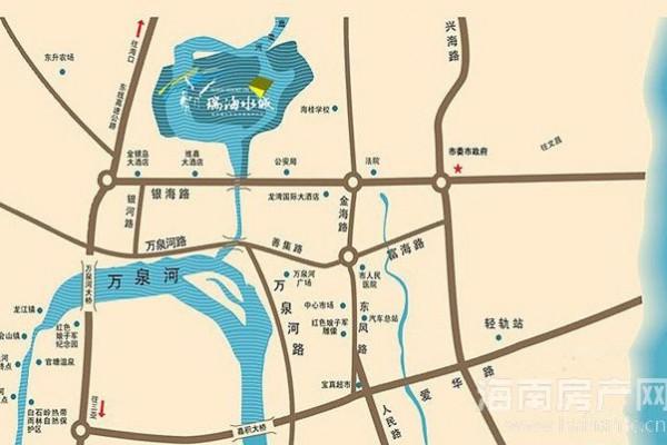 项目区位图交通图
