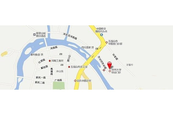 卓达·山水青城交通图