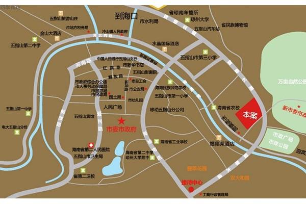 四季南山交通区位图
